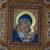 Икона маслом на бересте, в Новосибирске