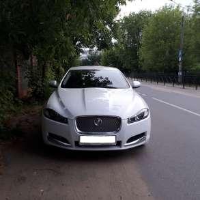 Автомобиль с водителем Ягуар xf, автомобиль на свадьбу, в Москве