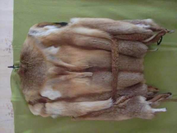 Крутой лисий жилет (дикая лиса)