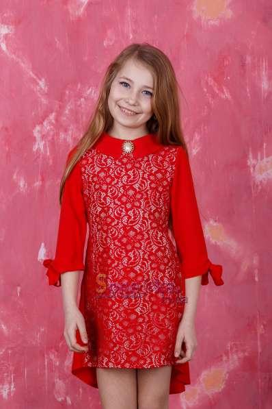 Детские летние платья-туники