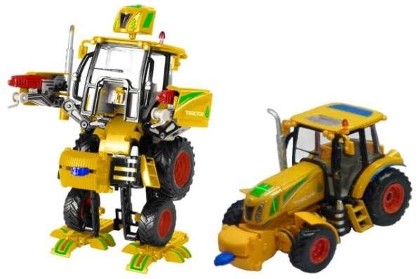 Робот-трансформер Мега-Трактор новый Tongde