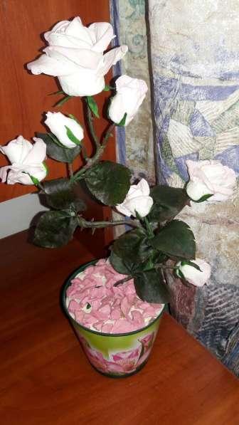 Орхидеи из холодного фарфора в