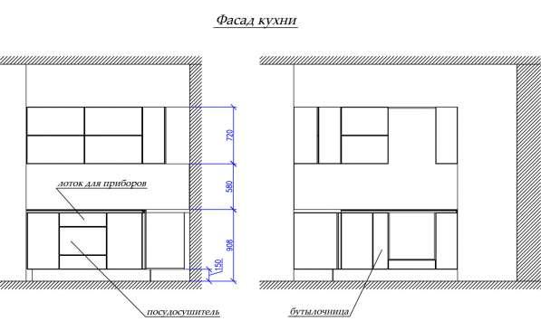 Кухонный гарнитур: Белый глянец в Омске фото 4