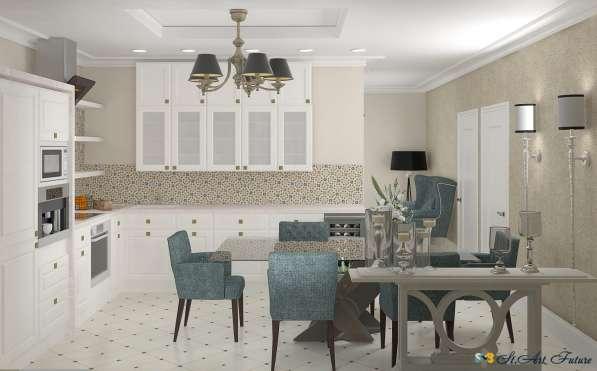 Дизайн интерьера комнаты, квартиры, дома. Уникальный стиль в Краснодаре фото 4