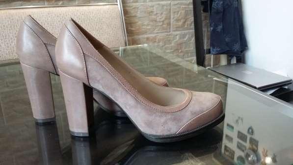Туфли кофейного цвета