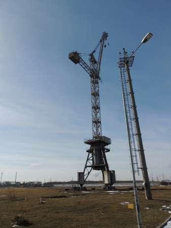 Продается кран башенный БК 1000-Б в количестве 2 ед.