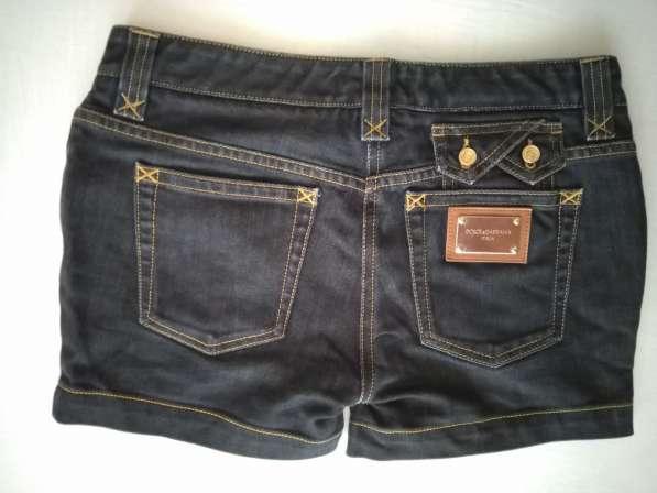 Dolce&Gabbana женские джинсовые шорты новые S 100% authentic в фото 8