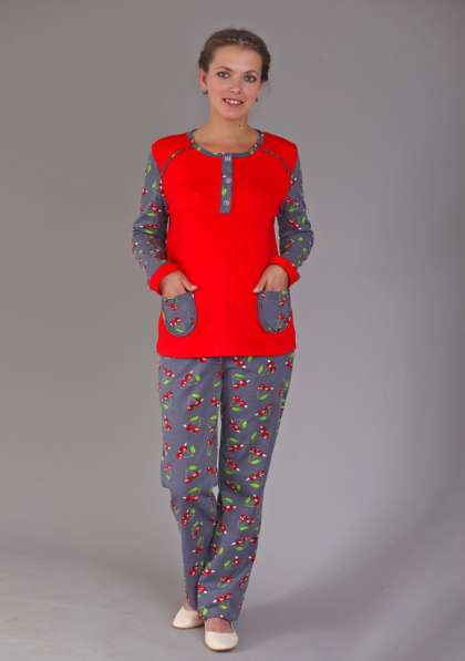Пижама теплая, размер 54