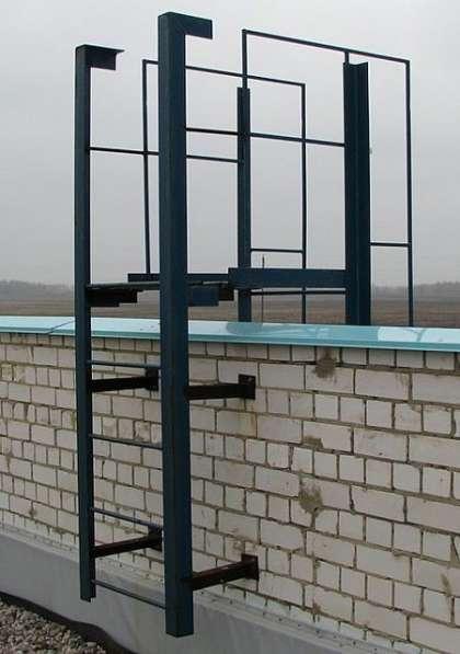 Стальные лестницы-стремянки СГ-22 по серии 1.450.3-7.94.2