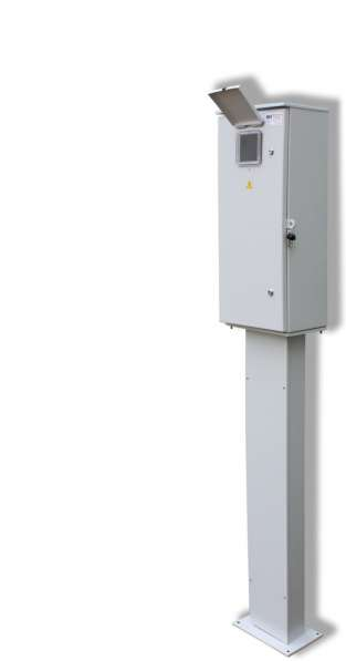 Щит учета электроэнергии ЩУЭ, кабеля, автоматы, светотехника