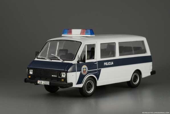 полицейские машины мира №44 Раф-22038 полиция латвии