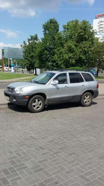 Hyundai Santa Fe 2002г