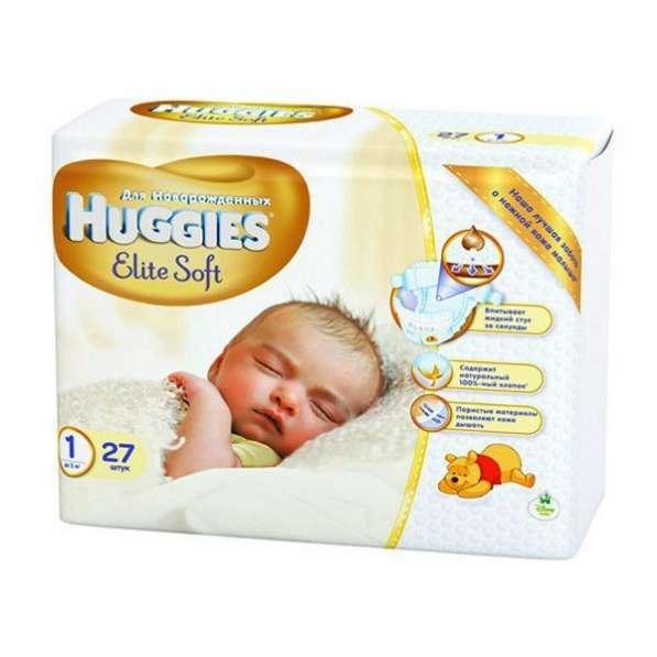 Подгузники Huggies Elite Soft 1 (до 5 кг)