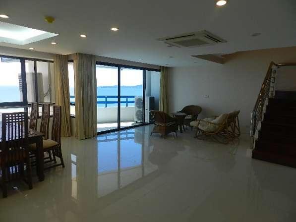 Люкс пентхаус на 3 спальни. Вид на море. Пляж Джомтьен