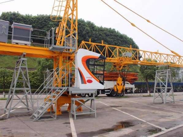Башенный кран с оголовком YongLi TC 6013
