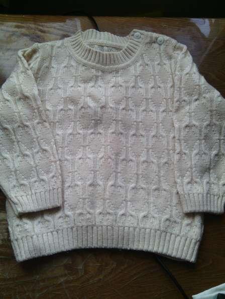 Трикотажный свитер на девочку
