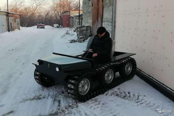Вездеход Егоза «Охотник-1» в Иркутске