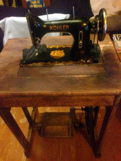 швейная машинка. KOHLER