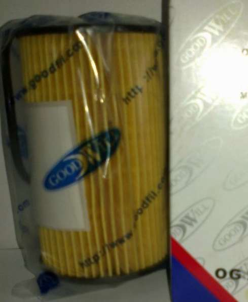 Фильтр масляный Goodwill на Opel/Chevrolet