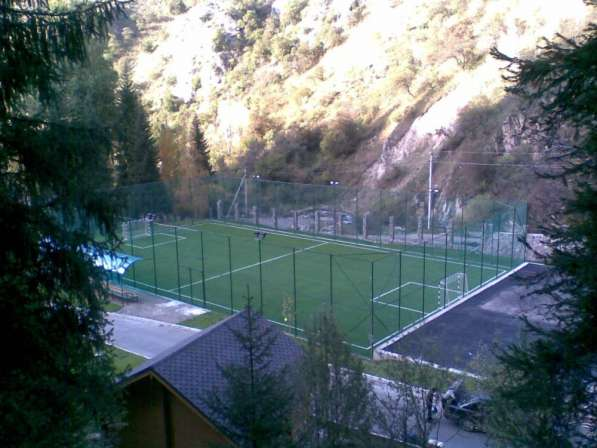 Строительство футбольных полей под ключ