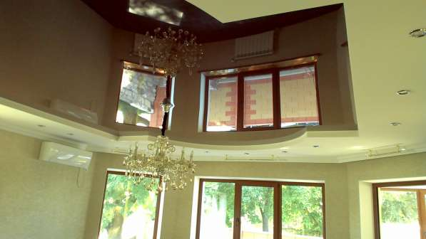 Натяжные потолки LuxeDesign производство и установка в Симферополе фото 8