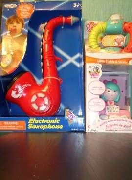Bright Starts - Три игрушки