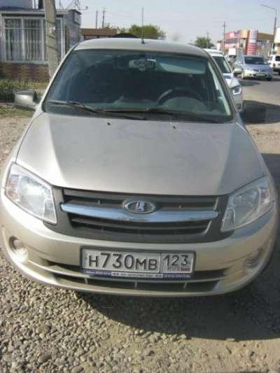 автомобиль ВАЗ Гранта