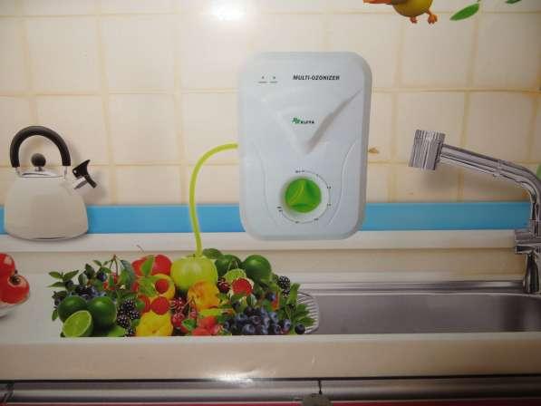 Мультиозонатор - прибор для очистки воды, воздуха, продуктов