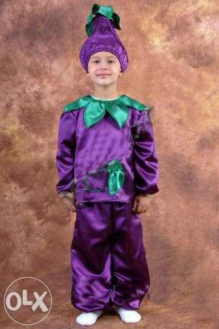 Баклажан костюм карнавальний
