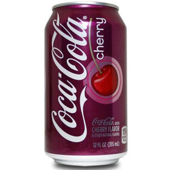 Газировка Coca-Cola Cherry(Кока-Кола Черри) в жестяной банке