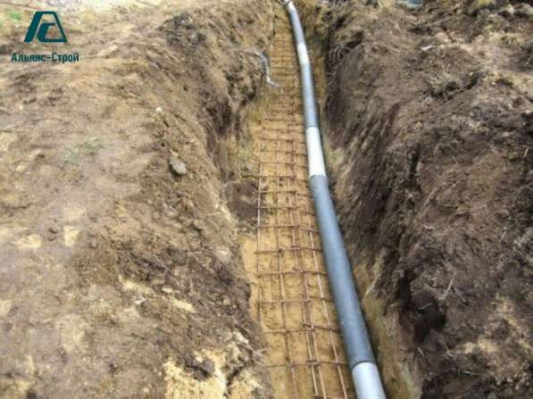 Прокладка наружной канализации в Краснодаре
