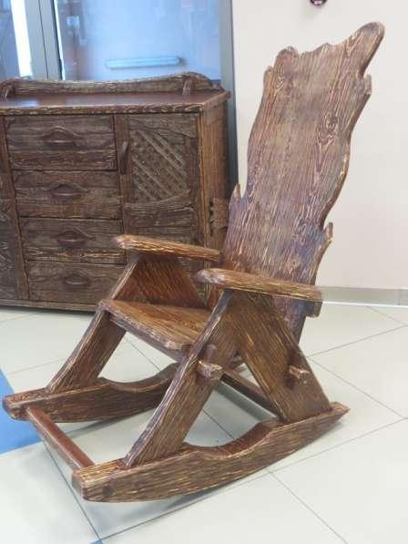 кресло - качалка материал сосна, липа. в Воронеже фото 4