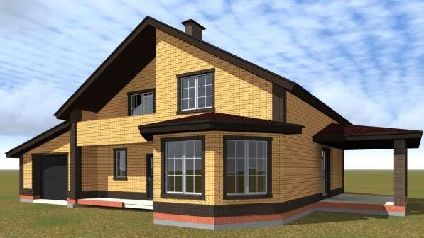 Проект дома - индивидуальная разработка каждому. Опыт 5 лет в Ижевске