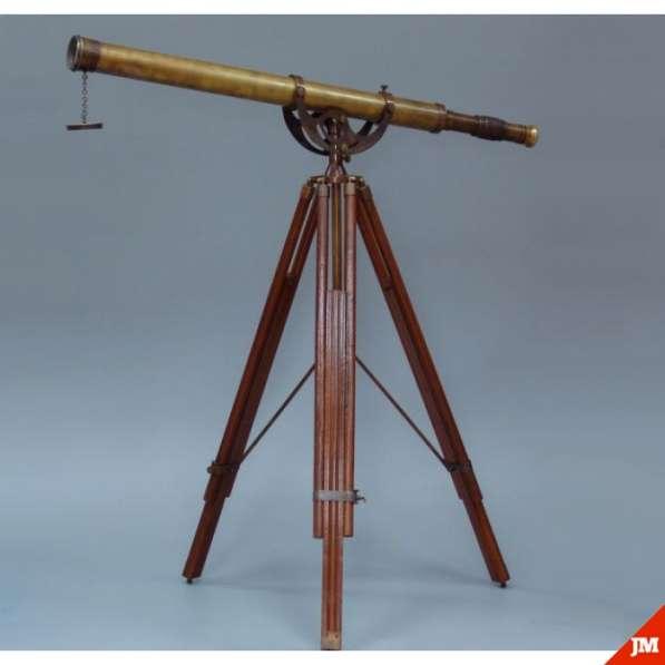 Старинный телескоп., Латунный телескоп Галилео Галилея