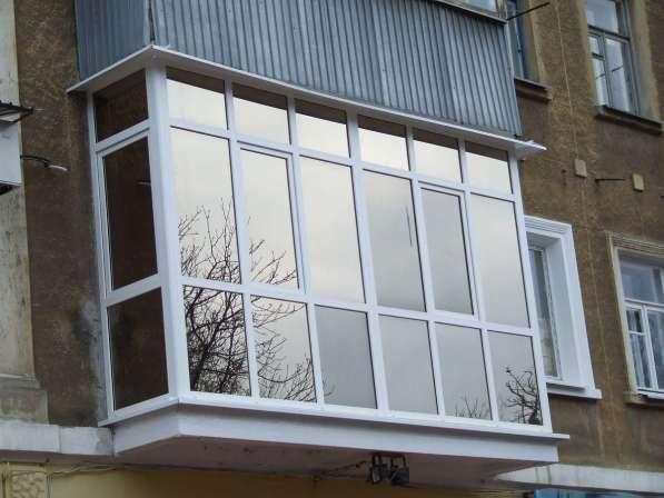 Остекление и утепление балкона в Иркутске фото 6
