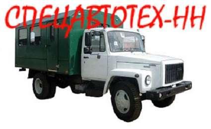 Вахтовый автобус Садко. Вахтовка ГАЗ-33081