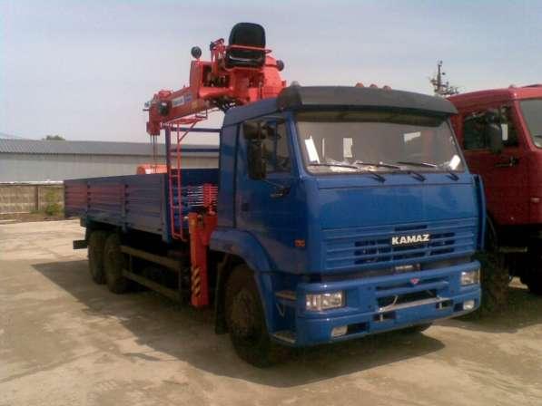 Камаз 65117 борт+КМУ