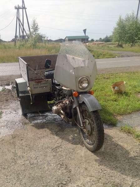 Трицикл Урал с кузовом