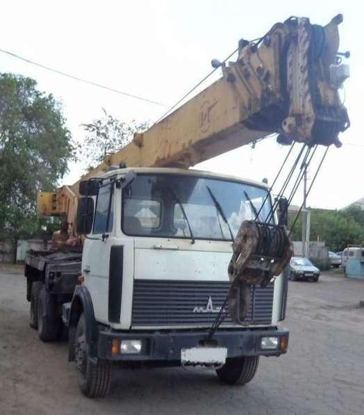 Продам 32 тонный автокран на МАЗе