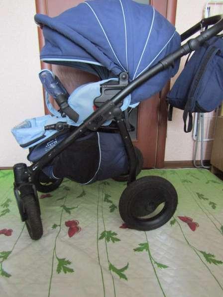 Коляска 2 в 1 Tutis Zippy Sport Plus сине-голубая