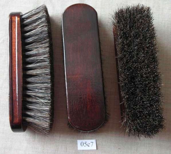 Щетка обувная из натурального волоса