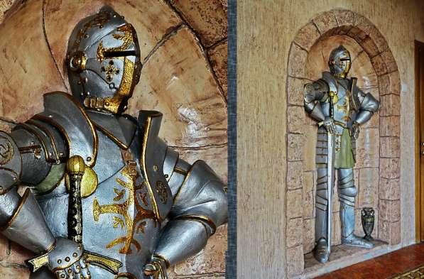 Ручная лепнина, барельеф, декор стен в Сергиевом Посаде