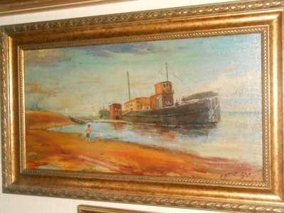 Старинная картина. 1958г.