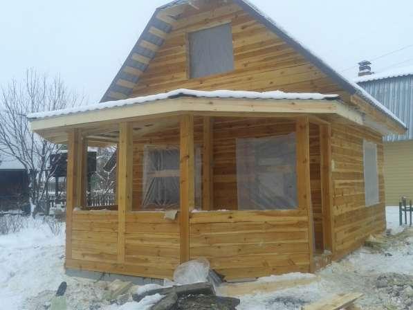Дом из бруса 5х5