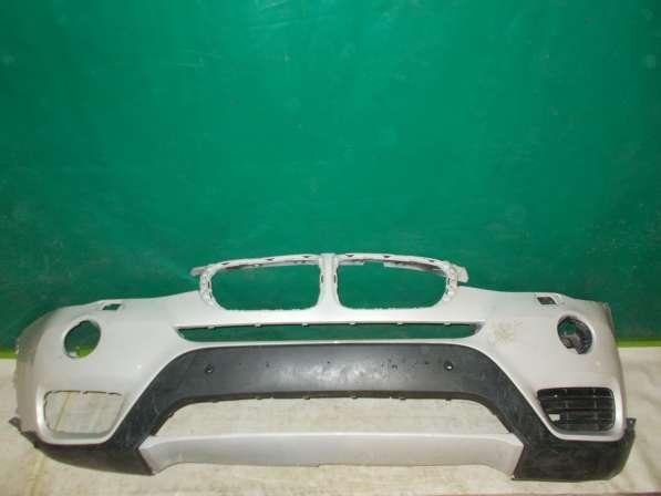 Передний бампер на BMW X3 F25