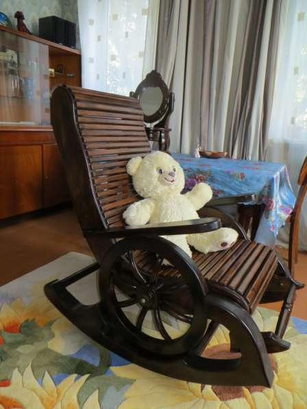 кресло - качалка материал сосна, липа. в Воронеже фото 6