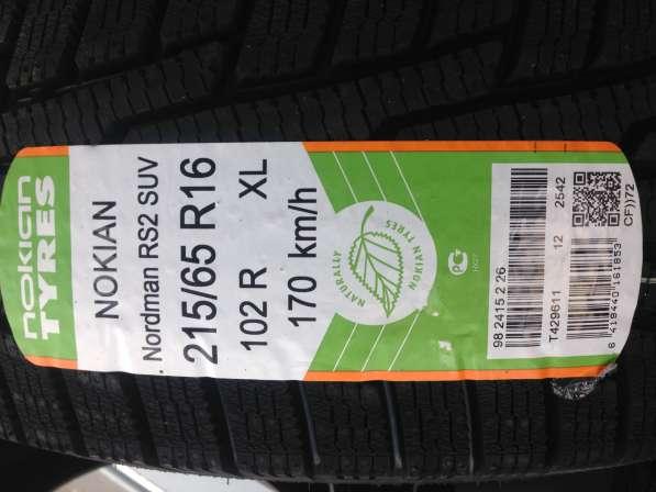 Шина зимняя новая Nokian Nordman RS2 SUV 215/65 R16 4 шт