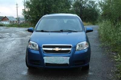 подержанный автомобиль Chevrolet Aveo 2007 седан