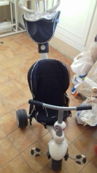 Комфортный велосипед Smart Trike Recliner 4 в 1