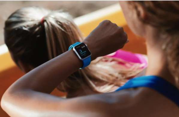 Часы Apple Watch Series 1 38mm with Sport Band MNNJ2 в фото 5